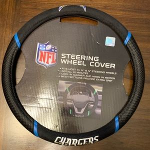 Charger Embroidered Car/Truck Steering Wheel Cover